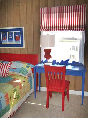 Beach House Kids' Room