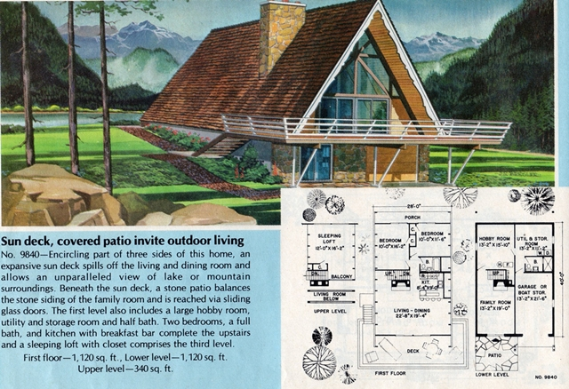Country Home Blueprints & Floorplans 1