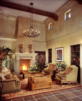 A Farmhouse Style Living Area