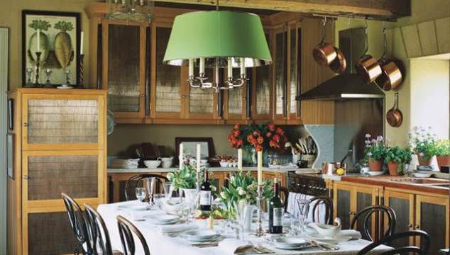 A Beautiful Country Kitchen