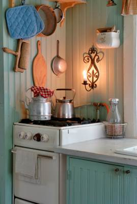 Vintage Swedish Country Kitchen