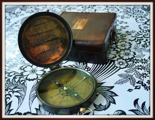 Vintage Negretti & Zambra Compass
