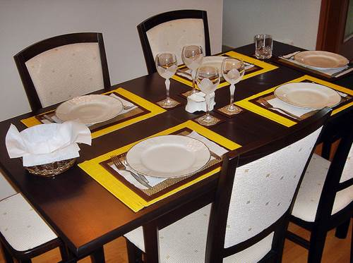 A Well-Laid Out Dining Table