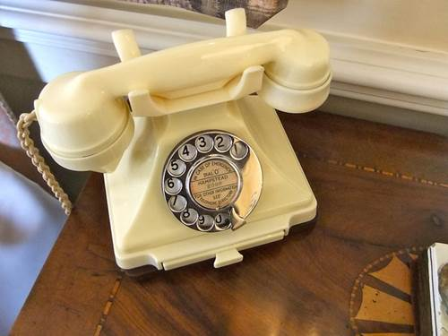 Antique Bakelite GPO Telephone