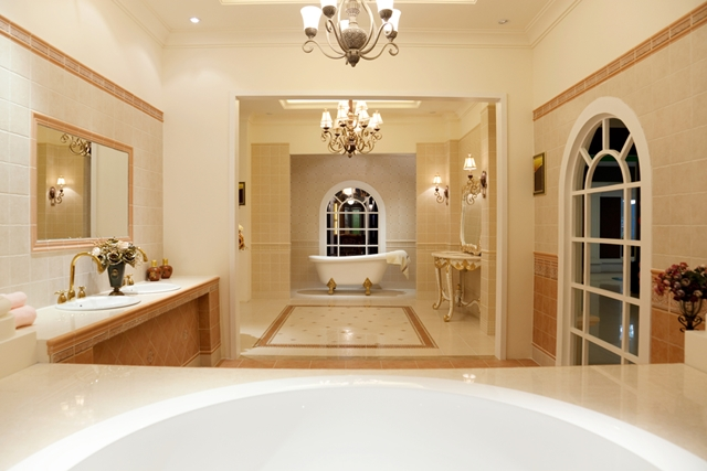 The Character Of Bathroom Decor 1 - bathroom-ceiling-lights