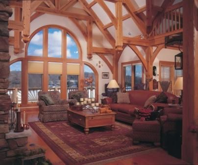 Timber Framing - A Timeless Structure 4 - OakBridge Timber Framing 4