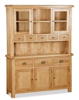 Getting the Country Kitchen Look 3 - salisbury-rustic-oak-hutch