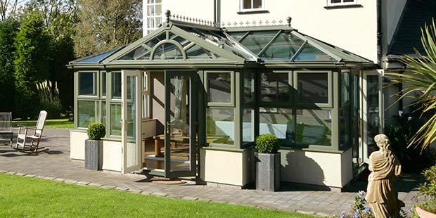 Three Novel Ways to Use Your Conservatory 4 - green-conservatory-adlington