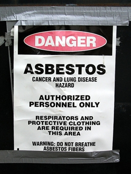 How To Get Rid Of Your Popcorn Ceiling 2 - Asbestos Warning