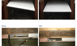 Should I Repair or Replace my Garage door 1 - Before-After