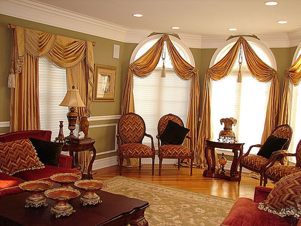 How a window treatment affects the décor of a room 1