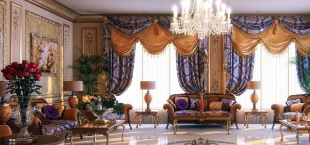How a window treatment affects the décor of a room 5