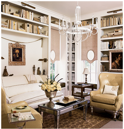 6 Simple Yet Highly Effective Ways To Make A Space Saving Library In Your Home Room Elegance