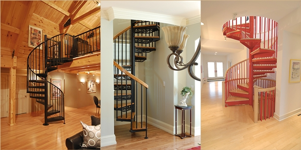 Make your Home Gorgeous with a Spiral Staircase 2