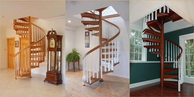Make your Home Gorgeous with a Spiral Staircase 3