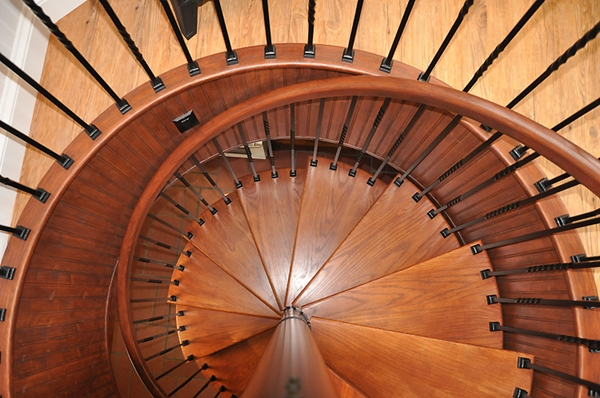 Make your Home Gorgeous with a Spiral Staircase 5