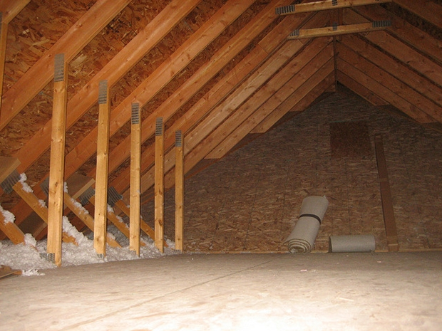 An attic ready for conversion photo courtesy craig dugas