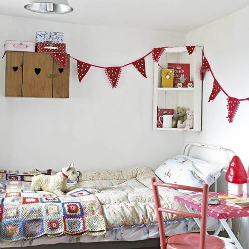 Beautiful Vintage Ideas for Your Child's Bedroom 1
