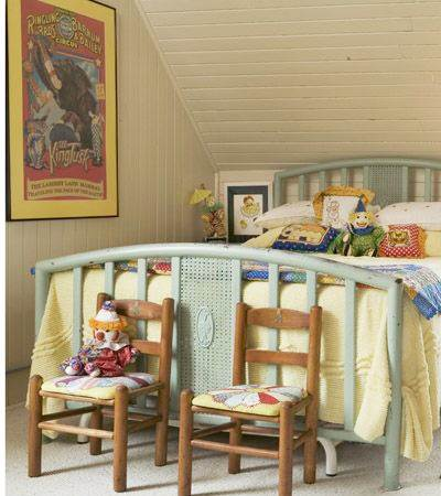 Beautiful Vintage Ideas for Your Child's Bedroom 5