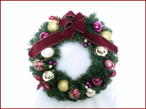 Nothing Says 'Christmas' Like A Christmas Wreath - Make Your Own 2