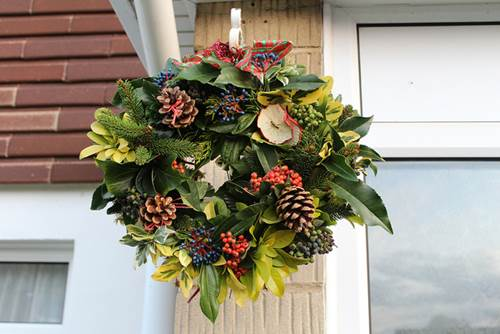 Nothing Says 'Christmas' Like A Christmas Wreath - Make Your Own 5