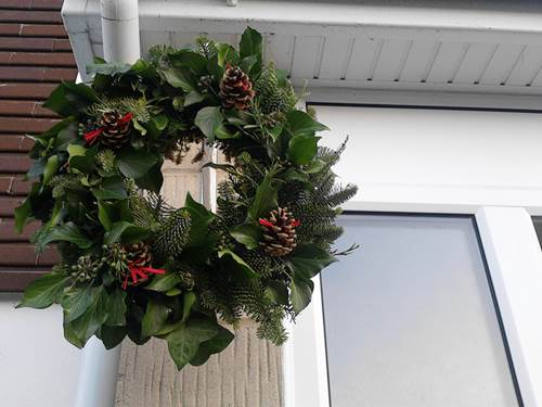 Nothing Says 'Christmas' Like A Christmas Wreath - Make Your Own 6