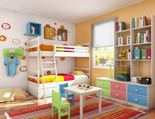 5 Important Things To Keep In Mind While Decorating Your Child's Room 1