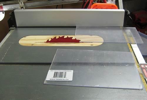 Cutting Plexiglass Or Lexan Sheets At Home 4