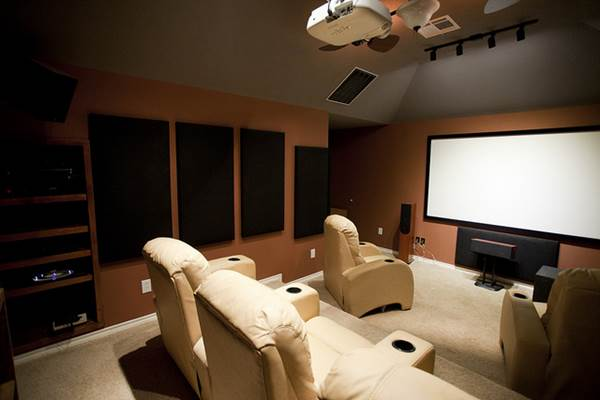 Design Ideas For Your Home Movie Theatre Set Up 1