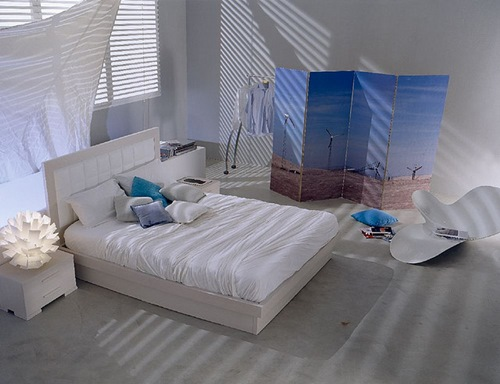 Bedroom Colour Ideas - Clear White 6